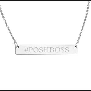 Golden Threads Jewelry - 1 left❤️Silver Stainless #POSHBOSS NECKLACE